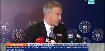 Ağaoğlu'ndan Ali Koç'a sert cevap! 'Gizli işler...'