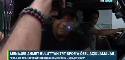 Ahmet Bulut'tan Falcao açıklaması!