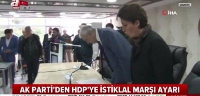 Ahmet Türk'ün ilk meclis toplantısında 'İstiklal marşı' krizi!