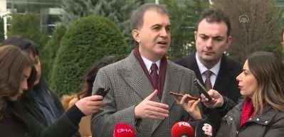 AK Parti Sözcüsü Çelik: Türkiye burada sınırı çizmiştir