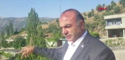 AK Partili başkana evinin önünde silahlı saldırı