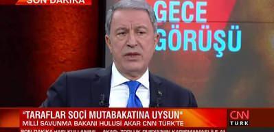 Akar'dan son dakika açıklaması: Cumhurbaşkanımız talimatı verdi