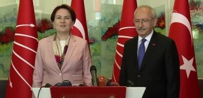 Akşener ile Kılıçdaroğlu görüştü