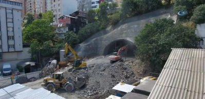 Alibeyköy'de trafiği bitirecek tünelde sona doğru