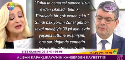 Alişan Kapaklıkaya'nın kızına duygu yüklü mektubu Zahide Yetiş'i ağlattı!