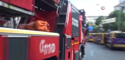 Almanya Başkonsolosluğu'nda yangın