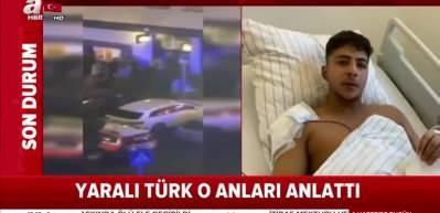 Almanya'da ırkçı saldırıdan yaralı olarak kurtulan Türk vatandaşı o anları anlattı