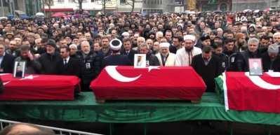 Almanya'da öldürülen Türk vatandaşları için cenaze töreni düzenlendi