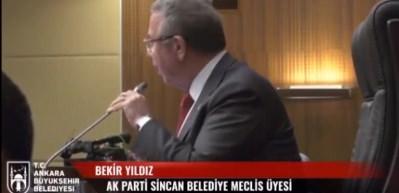 Ankara Büyükşehir Belediye Meclisinde gerginlik