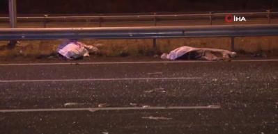 Ankara'da feci kaza: 2 ölü, 1 yaralı