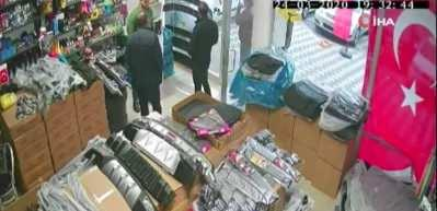 Ankara'da film gibi dükkan baskını