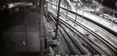 Ankara'daki tren kazasının görüntüleri ortaya çıktı!