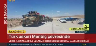 Anlaşma sonuç verdi, Türk askeri Menbiç'te!