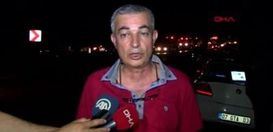 Antalya Kemer'de orman yangını