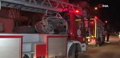 Antalya'da yangın vatandaşları korkuttu