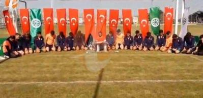 Antrenman sahasında Fetih Suresi okudular