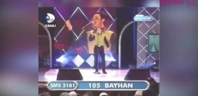 Armağan Çağlayan'ın Bayhan'ın şarkısına eşlik ettiği görüntüler sosyal medyayı salladı!
