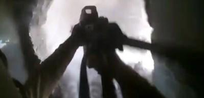 Askerimizin çatışma anı kask kamerasında!