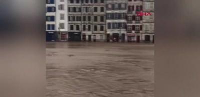 Avrupa'nın göbeğinde sel felaketi: Ölü ve yaralılar var