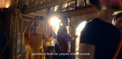 Ayşe Begüm Onbaşı 'Topkapı Sarayı'nda yeteneklerini sergiledi