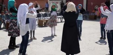 Bab'da ilk 23 Nisan kutlaması