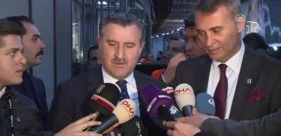 Bakan Bak: 'Beşiktaş hepimizi gururlandırdı'