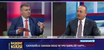 Bakan Çavuşoğlu açıkladı: PKK'ya devlet kurdurtacaklardı!