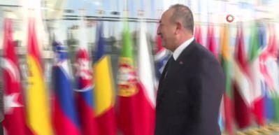 Bakan Çavuşoğlu, İngiltere Dışişleri Bakanı Raab ile görüştü