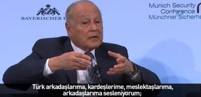 Bakan Çavuşoğlu'ndan Arap Birliği sekreterine Osmanlı tokadı!