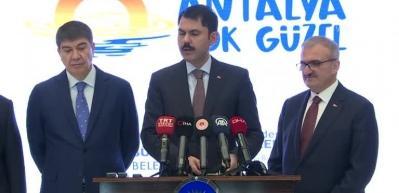 Bakan Kurum açıkladı: Kriz masası oluşturuldu