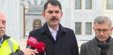 Bakan Kurum: Cumhurbaşkanımızdan tarihi bekliyoruz