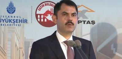 Bakan Kurum'dan kritik deprem açıklaması!