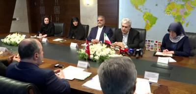 Bakan Varank, İran Cumhurbaşkanı Yardımcısı Sattari ile görüştü
