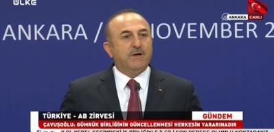 Bakan'dan vize serbestisi açıklaması