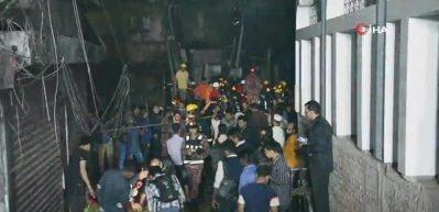 Bangladeş'te yangın faciası: 70 ölü, 50 yaralı