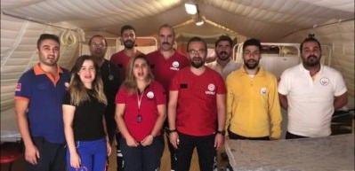 Barış Pınarı'na selam yolladılar!