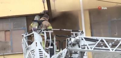 Başakşehir'de korkutan yangın! Çok sayıda ekip bölgede