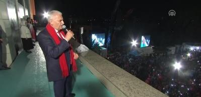 Başbakan Yıldırım: 'Türkiye'yi durdurmak ve dize getirmek isteyenler dize gelmiştir'