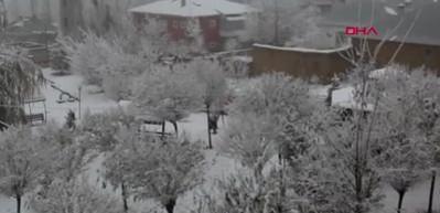 Başkale'de kar ve soğuk, hayatı olumsuz etkiledi