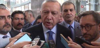 Başkan Erdoğan basın mensuplarına açıklamalarda bulundu!