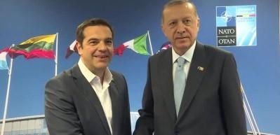 Başkan Erdoğan, Çipras ile görüştü