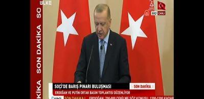 Başkan Erdoğan 'tarihi anlaşma' deyip duyurdu!