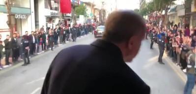 Başkan Erdoğan'a yoğun ilgi