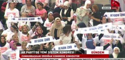 Başkan Erdoğan'ın sözleri salonu coşturdu