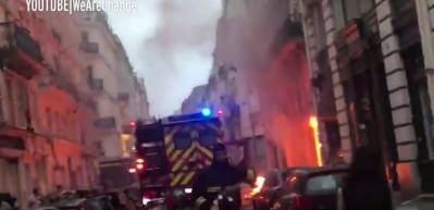 Başkent Paris'te büyük patlama!