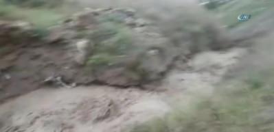 Başkent'te yaşanan selin yeni görüntüleri ortaya çıktı