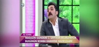 Bayhan canlı yayında İngilizce şarkı söyledi