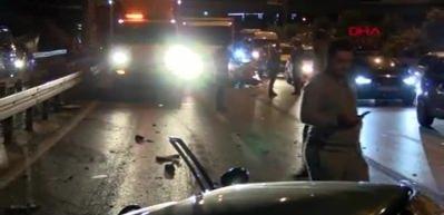 Bayrampaşa'da trafik kazası: 2'si ağır, 3 yaralı
