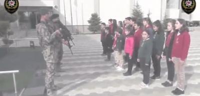 Barış Pınarı Harekatı'na katılan PÖH'ten öğrencilere mektup cevabı