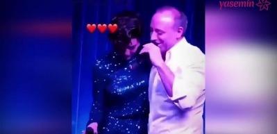 Bergüzar Korel'in eşi Halit Ergenç ile muhteşem düeti!